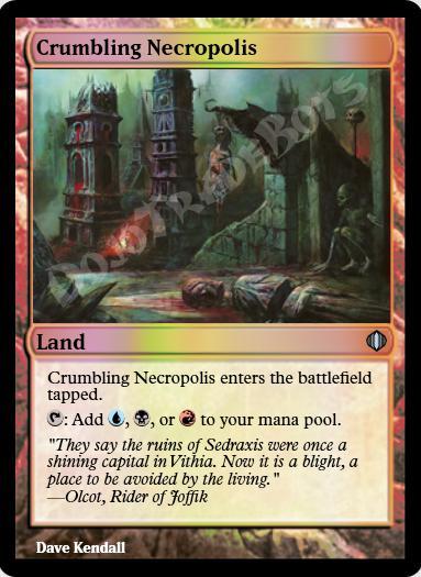Crumbling Necropolis FOIL