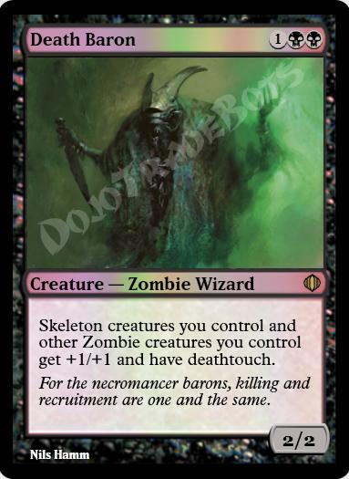 Death Baron FOIL