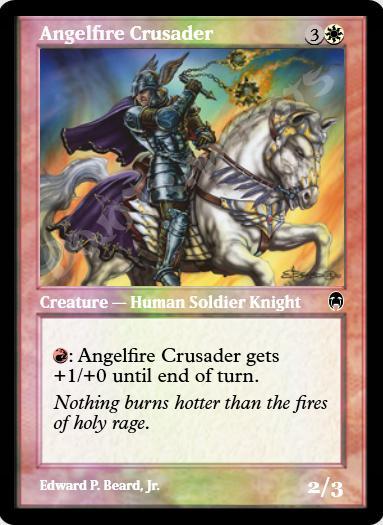 Angelfire Crusader FOIL