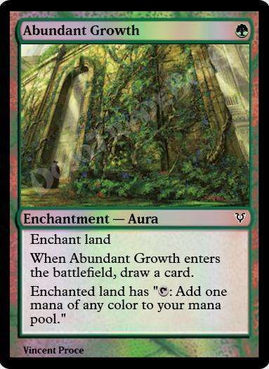 Abundant Growth FOIL