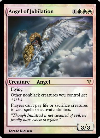 Angel of Jubilation FOIL