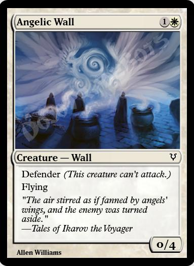 Angelic Wall