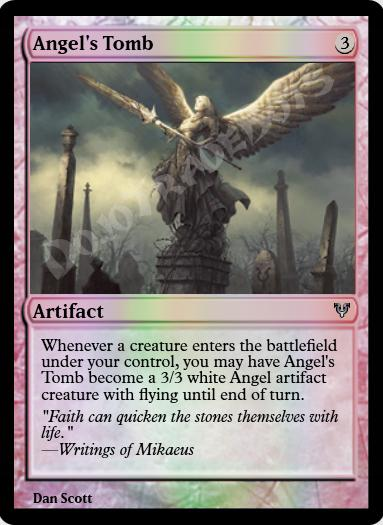 Angel's Tomb FOIL