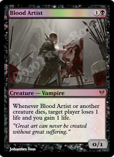 Blood Artist FOIL