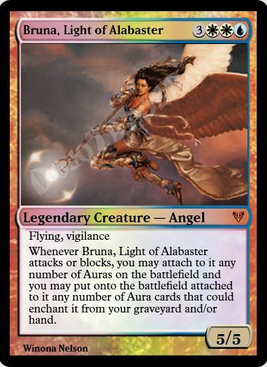 Bruna, Light of Alabaster FOIL