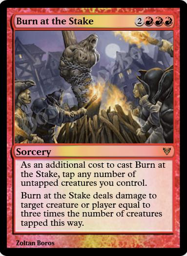 Burn at the Stake FOIL