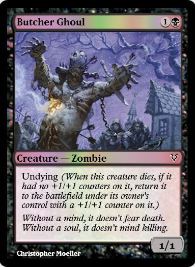 Butcher Ghoul FOIL