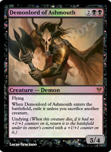 Demonlord of Ashmouth FOIL
