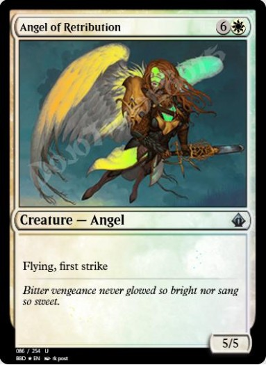 Angel of Retribution FOIL