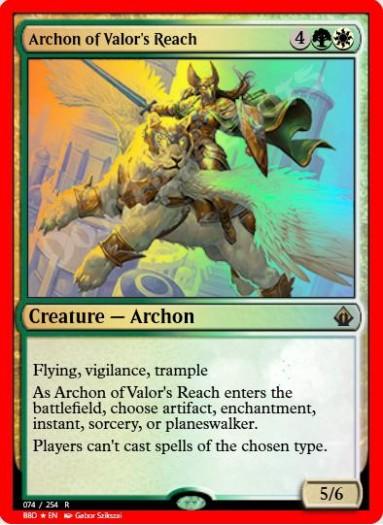 Archon of Valor's Reach FOIL