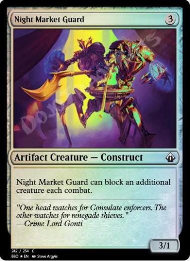 Night Market Guard FOIL