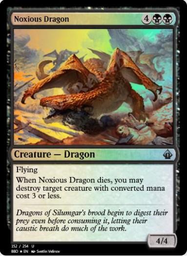 Noxious Dragon FOIL