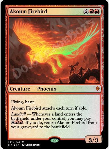 Akoum Firebird FOIL