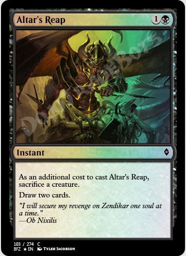 Altar's Reap FOIL