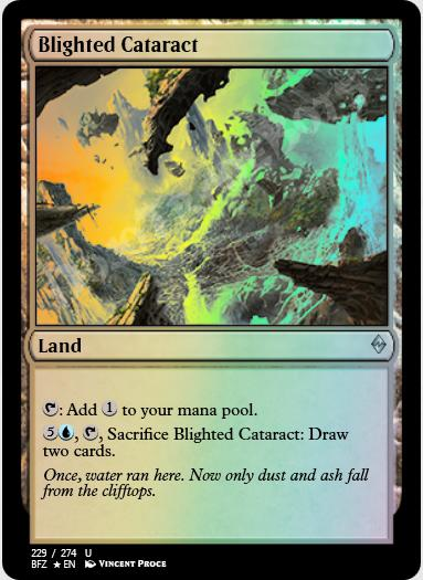 Blighted Cataract FOIL