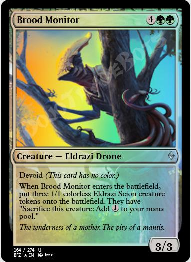 Brood Monitor FOIL