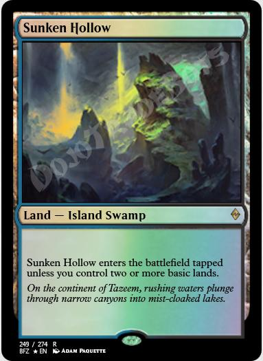 Sunken Hollow FOIL