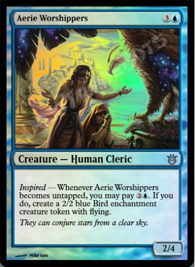 Aerie Worshippers FOIL