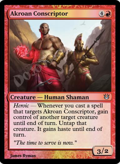 Akroan Conscriptor FOIL