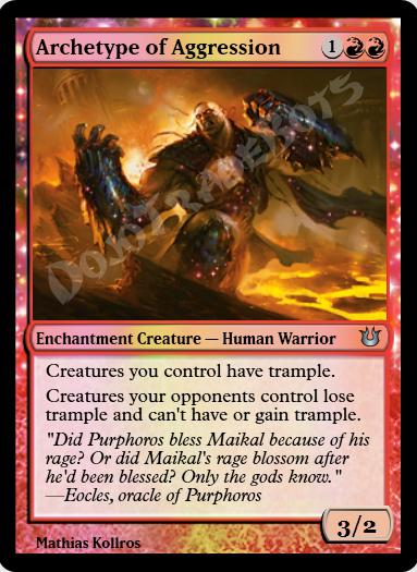 Archetype of Aggression FOIL