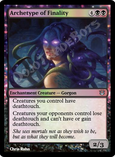 Archetype of Finality FOIL