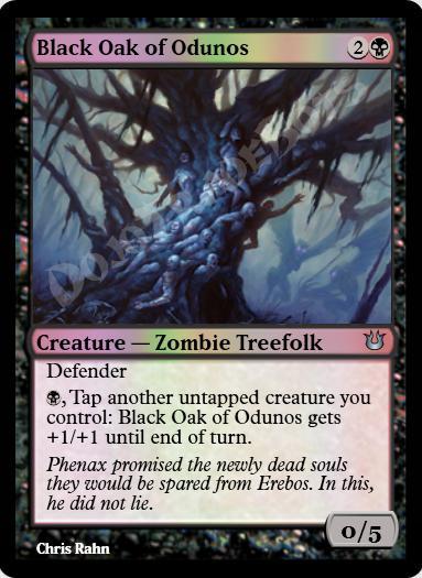 Black Oak of Odunos FOIL