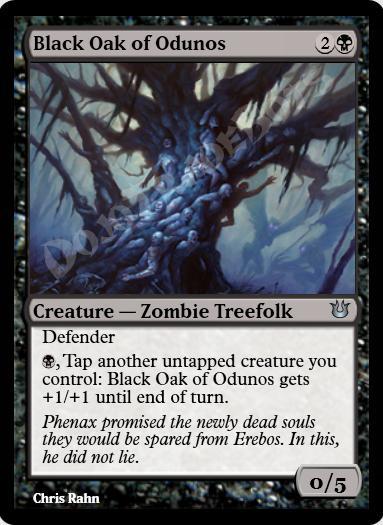 Black Oak of Odunos