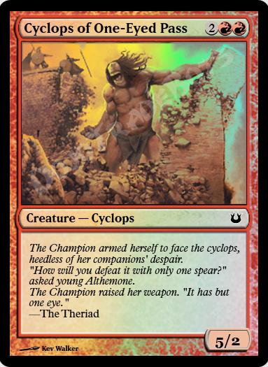 Cyclops of One-Eyed Pass FOIL
