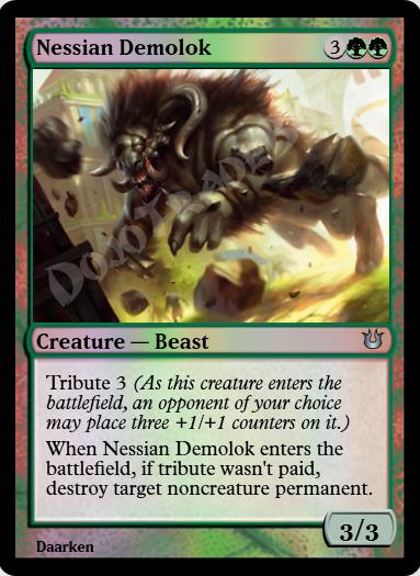Nessian Demolok FOIL