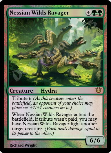 Nessian Wilds Ravager FOIL