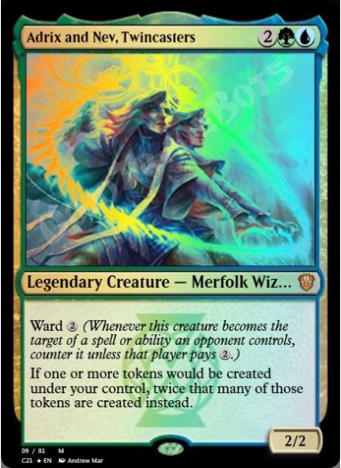 Adrix and Nev, Twincasters FOIL