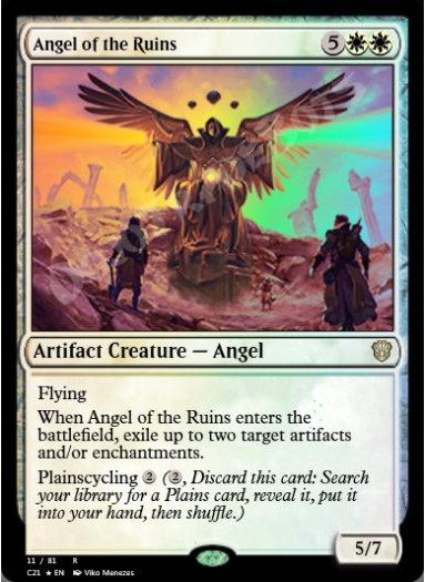 Angel of the Ruins FOIL