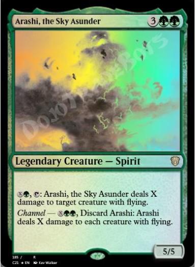 Arashi, the Sky Asunder FOIL
