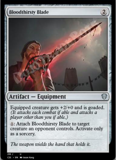 Bloodthirsty Blade