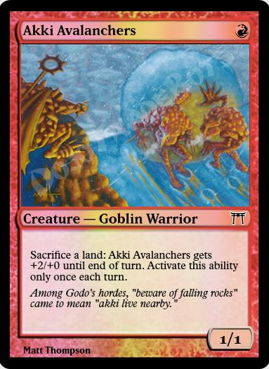 Akki Avalanchers FOIL