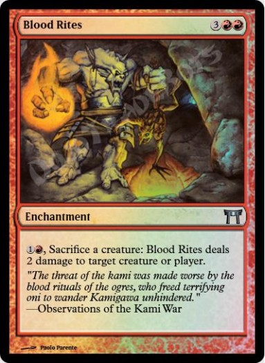 Blood Rites FOIL
