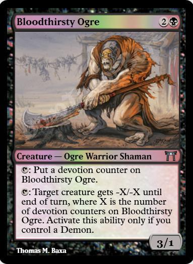 Bloodthirsty Ogre FOIL