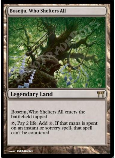 Boseiju, Who Shelters All