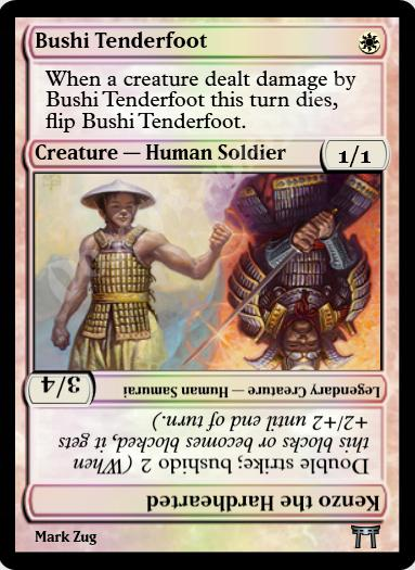 Bushi Tenderfoot FOIL