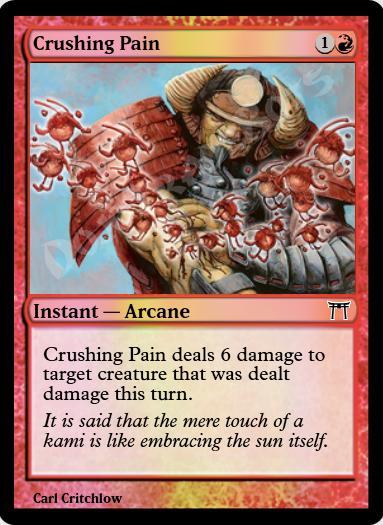 Crushing Pain FOIL