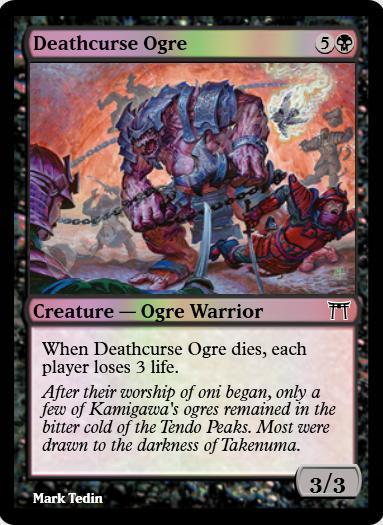 Deathcurse Ogre FOIL
