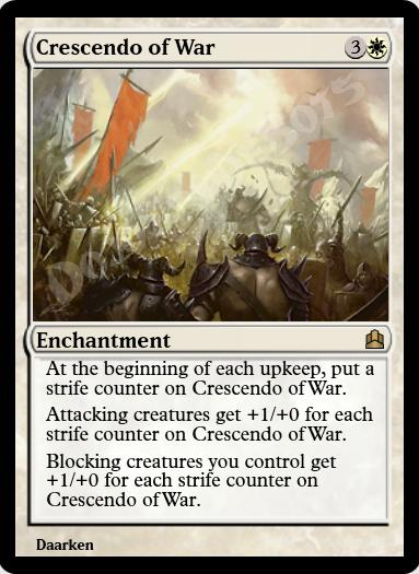 Crescendo of War