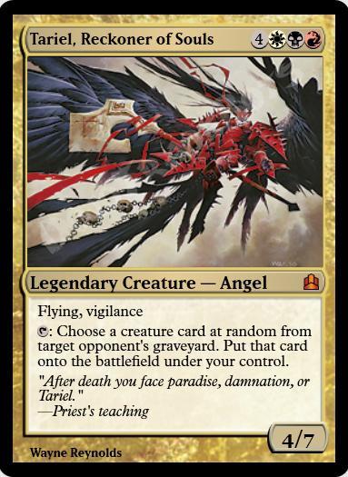 Tariel, Reckoner of Souls