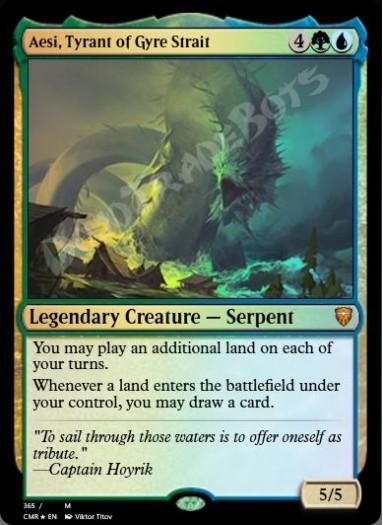 Aesi, Tyrant of Gyre Strait FOIL