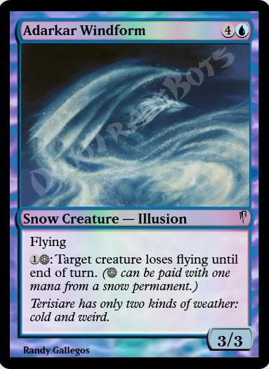 Adarkar Windform FOIL