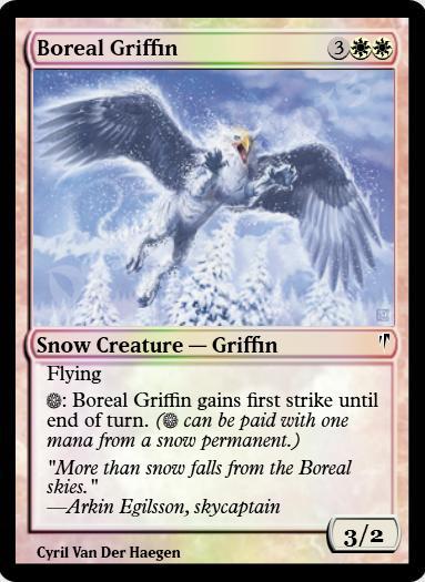 Boreal Griffin FOIL