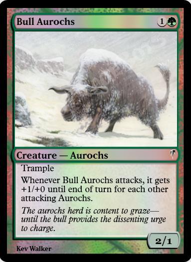 Bull Aurochs FOIL