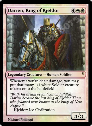 Darien, King of Kjeldor FOIL