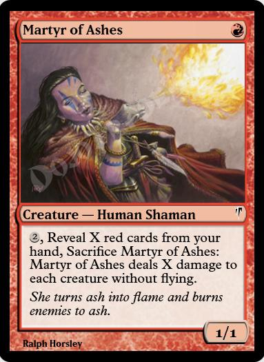 Martyr of Ashes