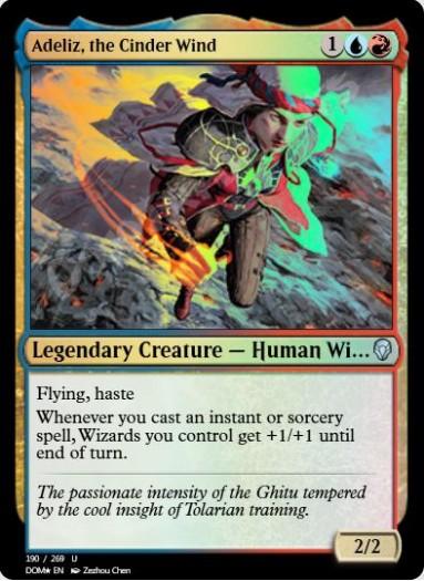 Adeliz, the Cinder Wind FOIL